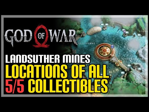 God Of War Landsuther Mines All Collectibles