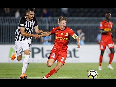 Highlights: FK Partizan-FC Nordsjælland: 3-2