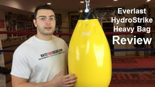 Everlast HydroStrike Heavy Bag Review by ratethisgear!