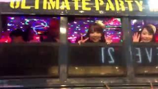恵比寿マスカッツハマーバスを追いかけました。