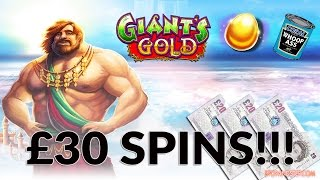 Giants Gold Slot 30 MEGA SPINS