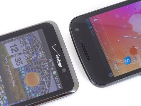LG Spectrum vs Samsung Galaxy Nexus
