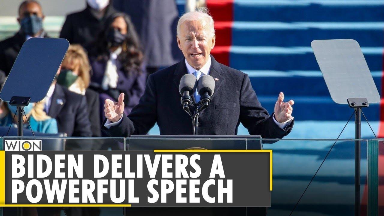 US President Joe Biden delivers a powerful speech | International News | Susan Tehrani