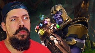WE NEED TO UNITE TO KILL THANOS AT FORTNITE!