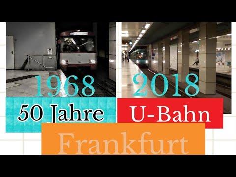50 Jahre U-Bahn In Frankfurt am Main