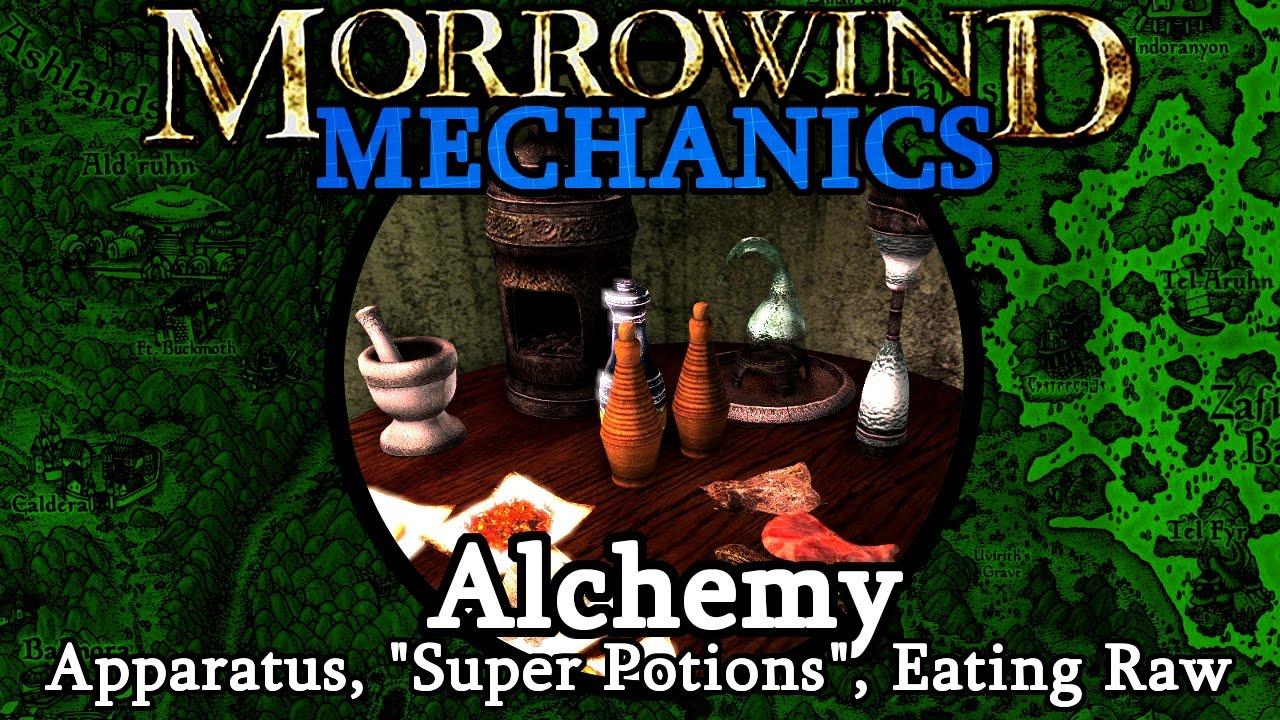 Alchemy - Morrowind Mechanics