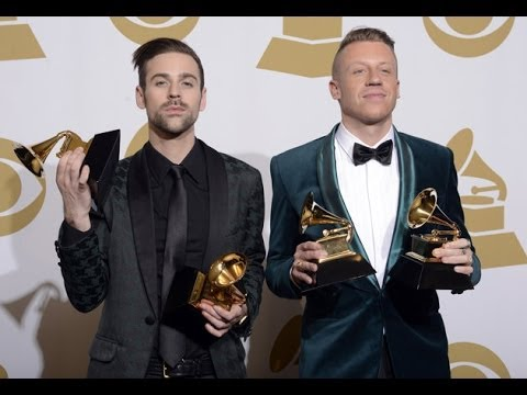 Macklemore and Kendrick Grammy's (D.Respect)