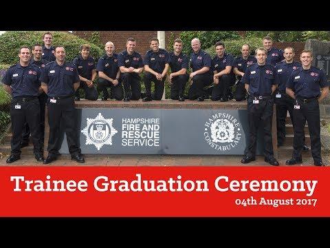 Trainee Graduation Ceremony 2017