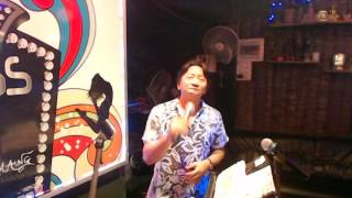 SHAKIN' STEVEN - GIVE ME YOUR HEART TONIGHT ( COVER BY JACKY MAUNG - PRINCESS BAR PATTAYA )