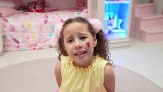 Valentina se transformou em um bebê ★  شفا تحولت إلى بيبي !