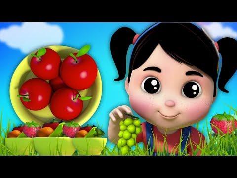 frutti canzone per bambini | filastrocche | imparare frutti nomi | rime per i bambini | Fruits Song