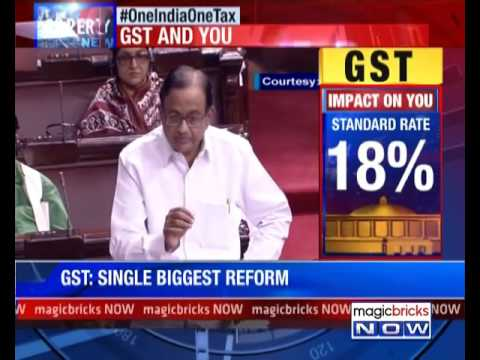 Congress never opposed the idea of GST says P Chidambaram- Property Hotline