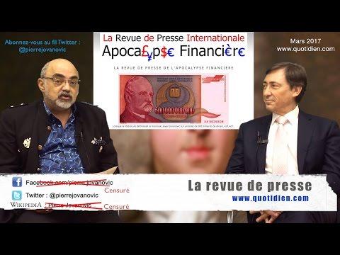 P. Jovanovic - B. Monot : La revue de presse (mars 2017)