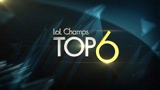 Hot6ix LoL Champions Summer_Top6 Week 1_by Ongamenet