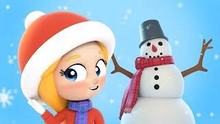 Детская песенка про снеговика. Мультик песня от Сины и Ло.