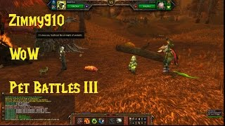 Wow - Pet Battles Iii - Pet Trainers Of Eastern Kingdoms