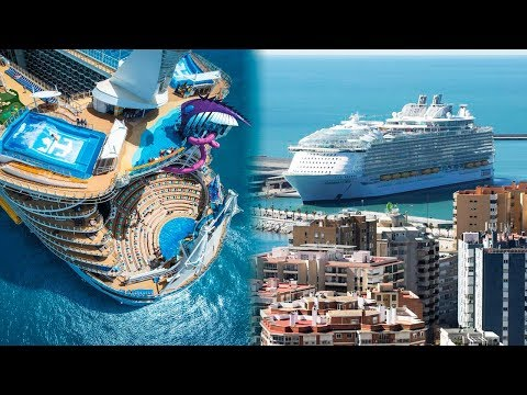 The BIGGEST CRUISE SHIPS In The World 🚢