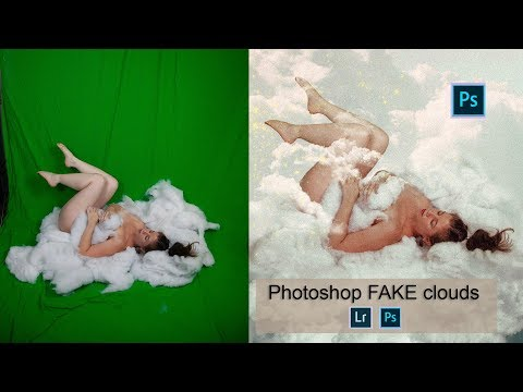Laying on Clouds - Photoshop Tutorial thumbnail