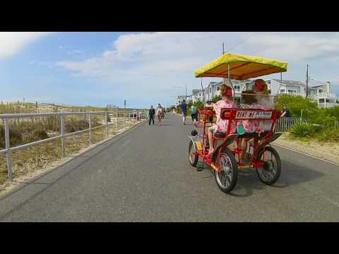 Sea Isle City Boardwalk Bike Ride 5/27/17
