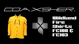 Coaxsher Wildland Fire Shirts FC100 & FC103