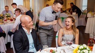 Интервью с гостями на свадьбе или корпоративе. Денис Пирожков.