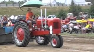 Antique Tractor pulling part 2 from the Randolph County fair