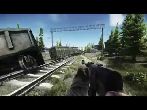 Railroad to Military Base - Scav Exit on Customs | Escape from Tarkov