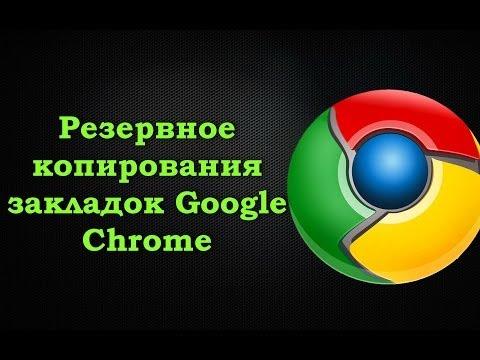 Как импортировать и экспортировать закладки Google Chrome.Резервное копирования закладок