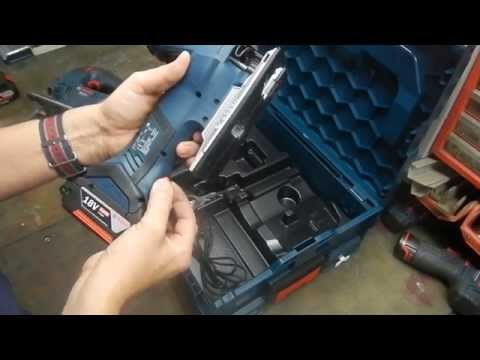 Видео обзор: Акк. пилы лобзиковые BOSCH GST 18 V-LI S Solo без АКБ и ЗУ