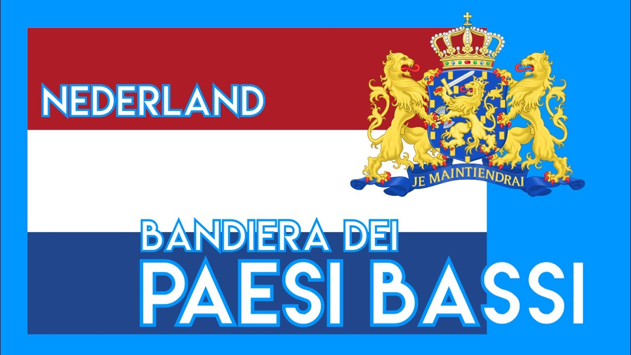 Paesi Bassi Storia Della Bandiera Olandese Youtube