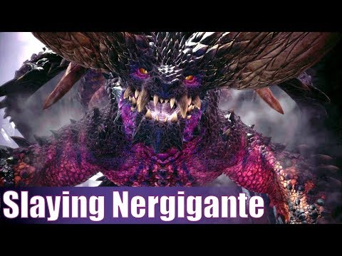 Monster Hunter World Beta - Enter Extinction Dragon Nergigante! (MHW)