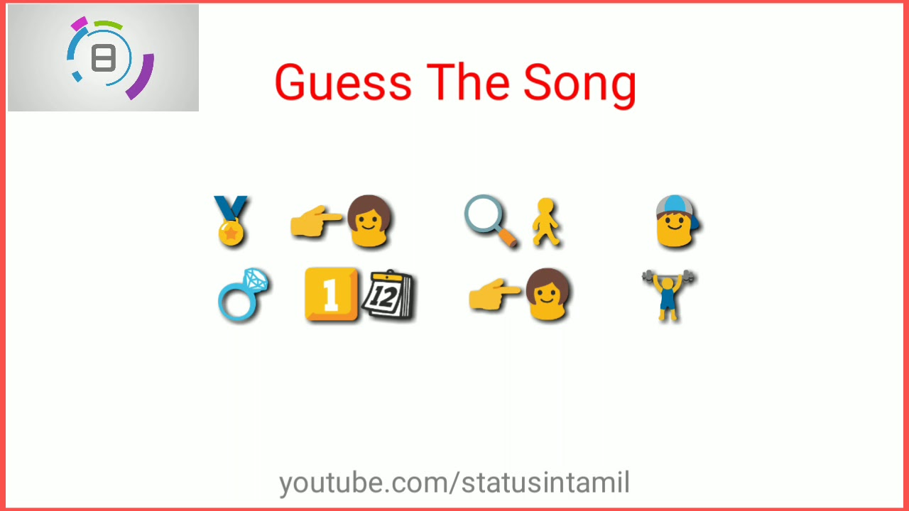 Tamil Emoji Challenge Whatsapp Status Video Guess The Song