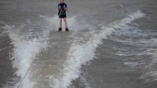 Daniel Copeland Crazy Skiing On Possum Kingdom Lake