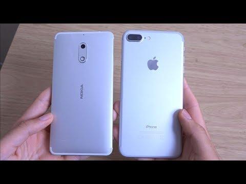Nokia 6 vs iPhone 7 Plus -  Speed & Camera Test!