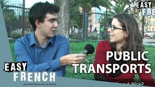 Easy French 8 - Public transports