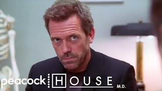 House Crashes A Disability Talk | House M.D.