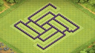 Clash of Clans - Best Town Hall 7 Farming Base 2014