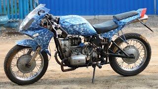 Обзор моего мотоцикла днепр спорт