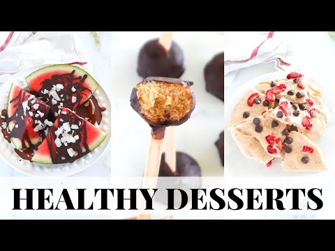 EASY HEALTHY DESSERTS: simple, vegan, paleo recipes