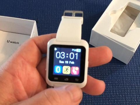 U80 Smart Watch Overview, Bluetooth watch by EasySMX (2017)