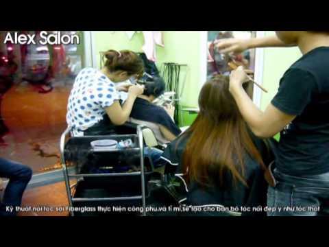 [Nối tóc] Kỹ thuật nối tóc sợi fiberglass