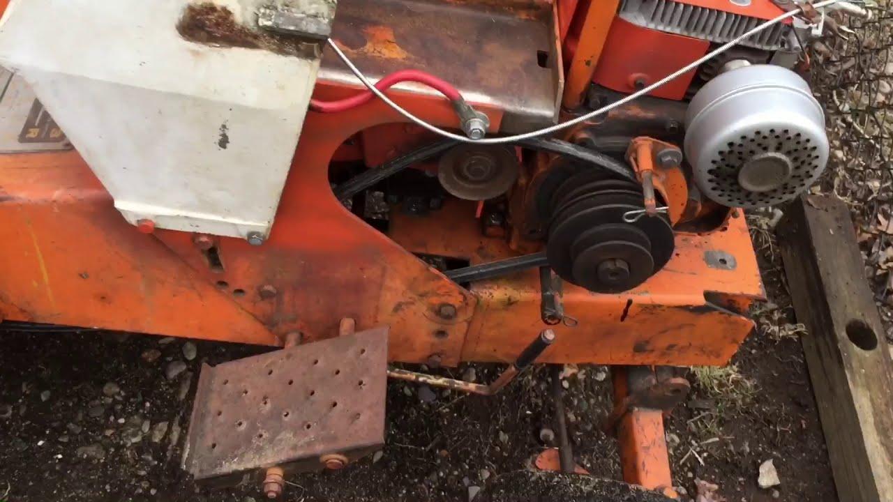Sears Suburban 3pt manual lift