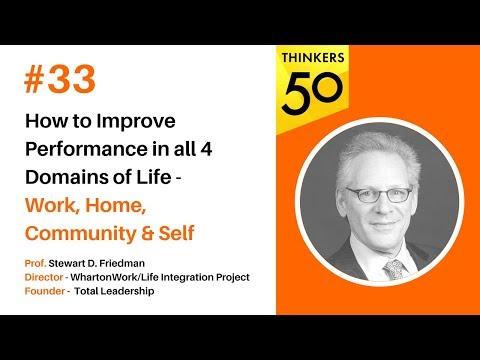 Episode #33 Stewart Friedman, Practice Professor of Management at The Wharton School