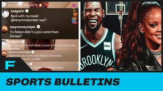 Kevin Durant BLASTED By Rihanna For Having Coronavirus in SAVAGE IG Live Exchange