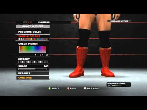 WWE '13 - Creating A WWE Superstar (Full) - The Ultimate Pain! 720p HD
