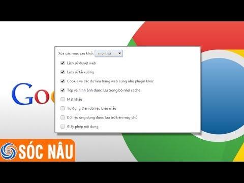 Cách Xóa Lịch Sử Tìm Kiếm Trên Google Chrome