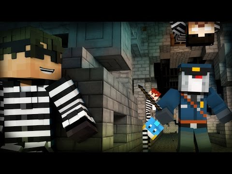 Minecraft Mini-Game: COPS N ROBBERS! (ULTIMATE BRODOWN!) /w Facecam