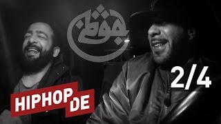 "Azad über Frankfurter Rap, KC Rebell, 187 Strassenbande, Kurdistan & ""Leben II"" (Interview) #waslos"