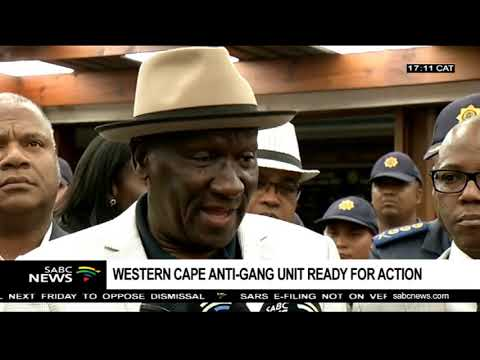 Western Cape anti-gang unit ready for action: Bheki Cele