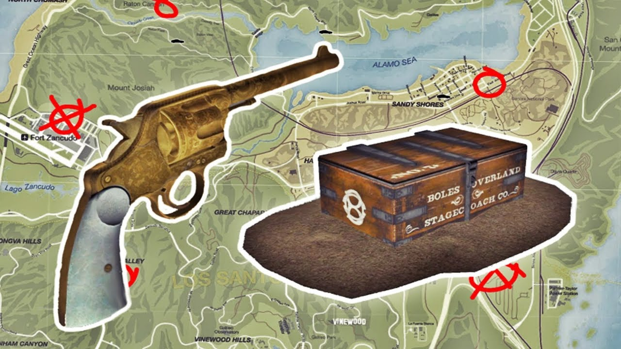 Gta 5 Online Treasure Chest Locations Wiring Diagrams Circuit Of 74276 Four Jk Flipflop Digitalcircuit Basiccircuit Red Dead Redemption 2 Easter Egg Mission Completed Rh Youtube Com Hidden Location 1